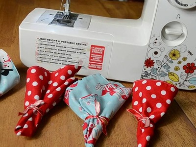 How To Sew 4 Fabric Napkins At The Same Time!