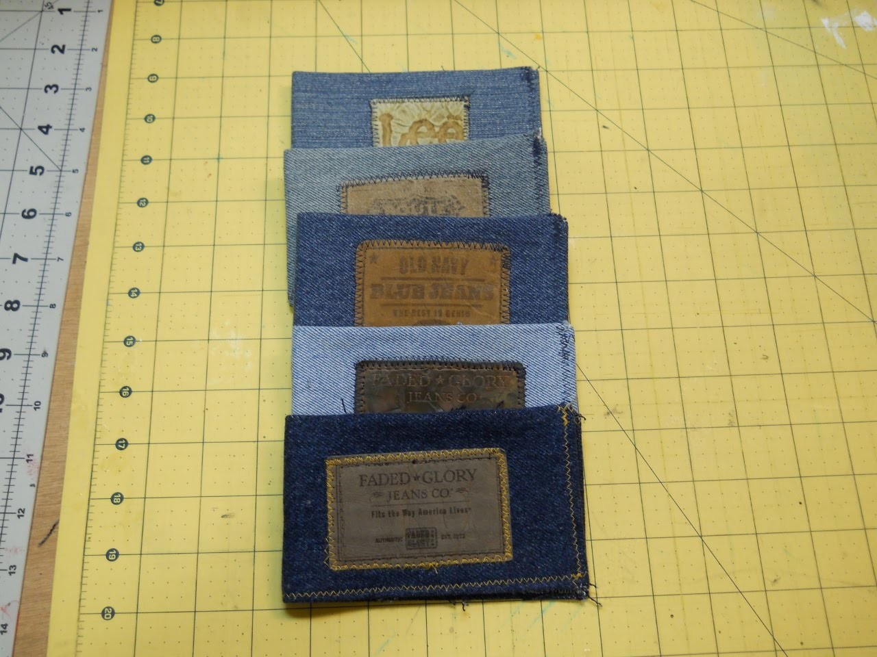 How To Sew A Denim Wallet
