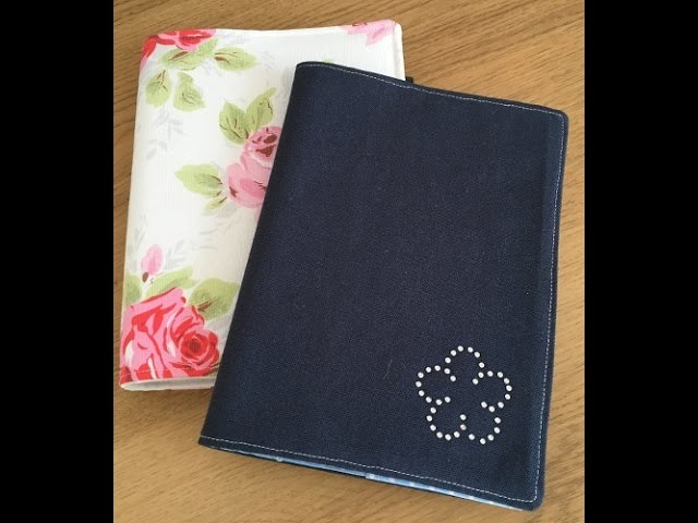 How To Sew A Fabric Notebook Cover