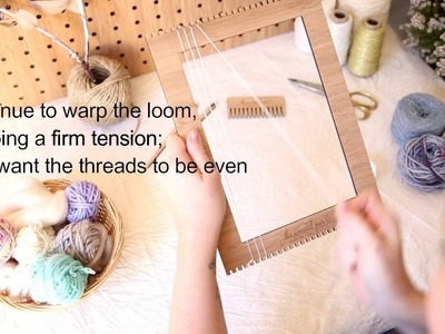 How to singe warp; Weaving Techniques with The Unusual Pear