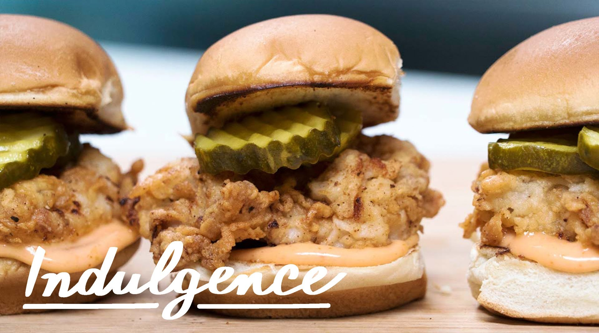 Learn How to Master These Fried Chicken Sliders with Sriracha Mayo