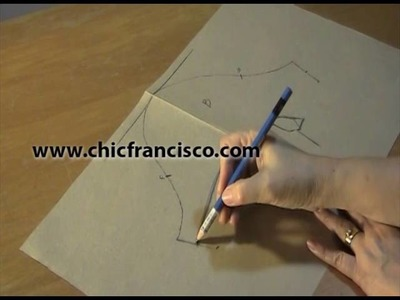 Lesson 3-22 How to Draft a Basic Mini Short Sleeve Pattern