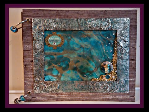 Loose Leaf Art Journal. . How To and Giveaway. .  #ICAlumniHop