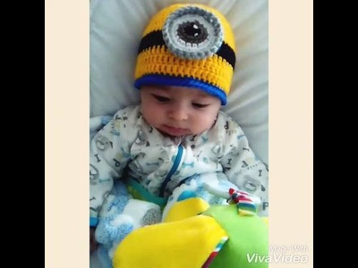 Minion Hat Crochet