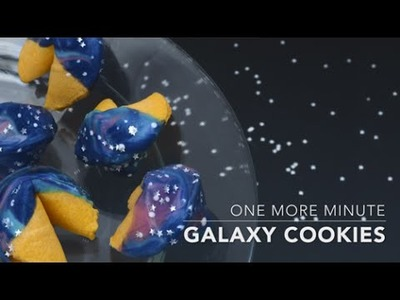 One More Minute: How to Make Edible Galaxy Fortune Cookies