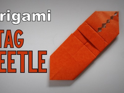 Origami - How to make a STAG BEETLE