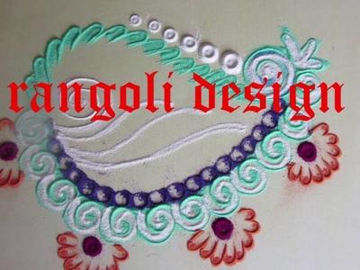 Simple rangoli design rangoli design with dots how to make rangoli designs step by step rangoli desi