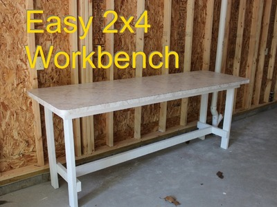 Workbench Plans - How to Make Using 2x4's