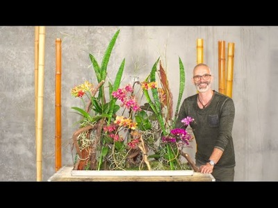 A Secret Orchid Garden by Klaus Wagener | Flower Factor How to Make | Powered by Opti-Flor