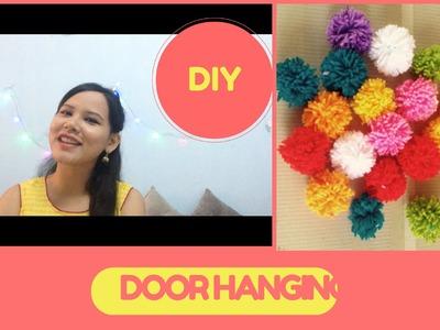 DIY door hanging. Navratri & Ganesh Chaturthi. how to decorate.