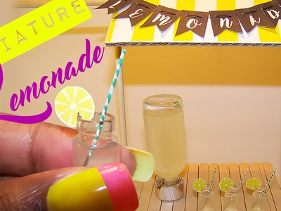 Doll Lemonade Stand | How to Make a Doll Lemonade Stand!