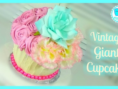 Giant Cupcake | How to decorate Basics 4 | Sweet Maniacs
