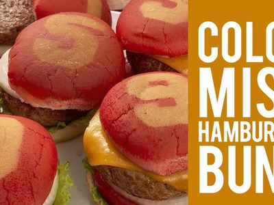 How to Color Hamburger Buns