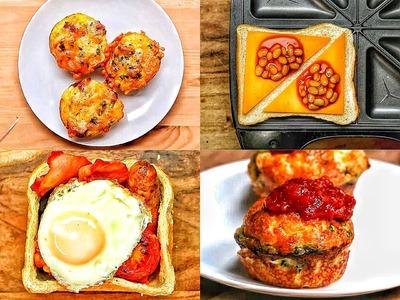 How to Cook Breakfast 4 ways