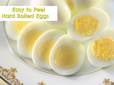 How to Cook EASY TO PEEL Hard Boiled Eggs | Amy Learns to Cook