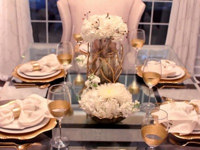 How To Create An Elegant And Timeless Table Scape