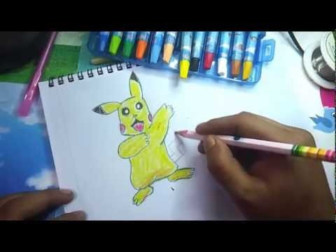 How to Draw Pikachu for kids easy step by step
