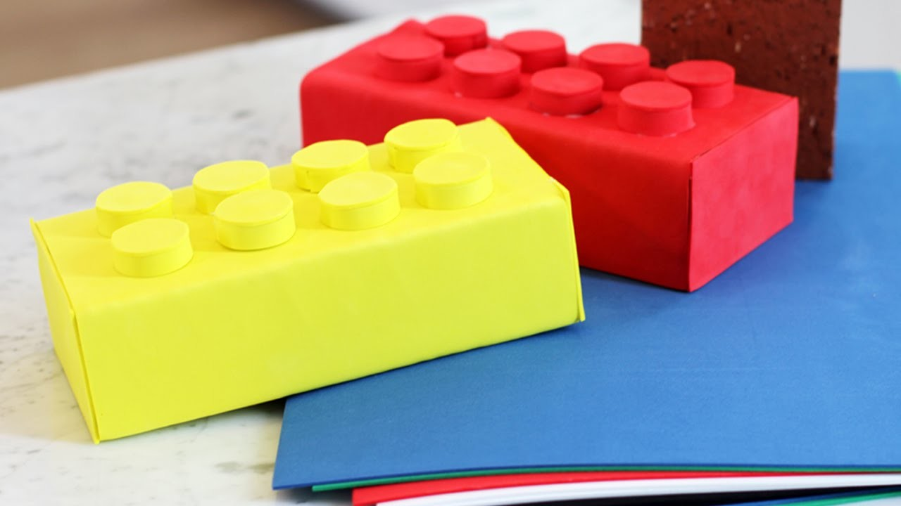 How to make a Building Block Doorstop - HGTV Handmade