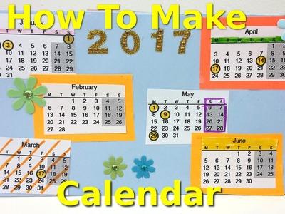How to Make a Calendar | Fun Kids Creative Activity