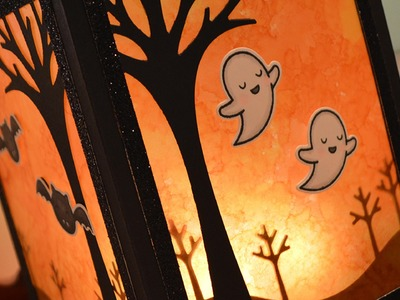 How to make a Halloween lantern