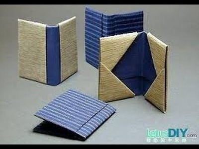 How to make a Paper Wallet with Secret Pockets | Origami | Without Tape |