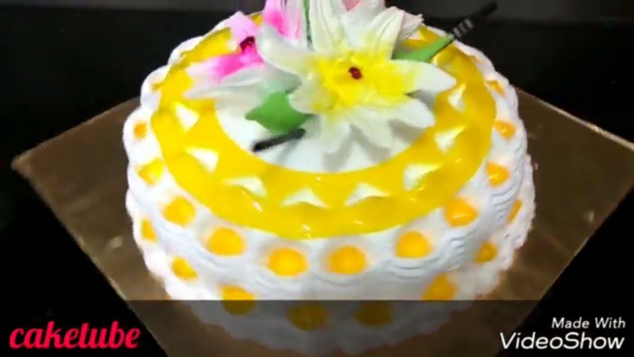 How to make a pineapple upside down cake shot | homemade frosting recipe | design a cake