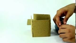How to make a popsicle stick house - Simple Tutorial