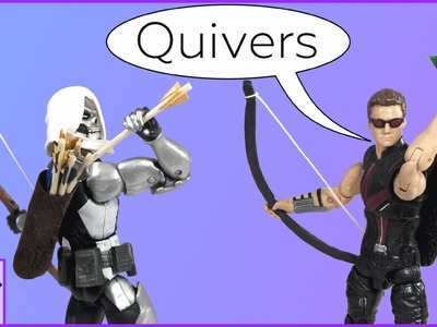 How to make a Quiver for your Action Figures or Other Toys