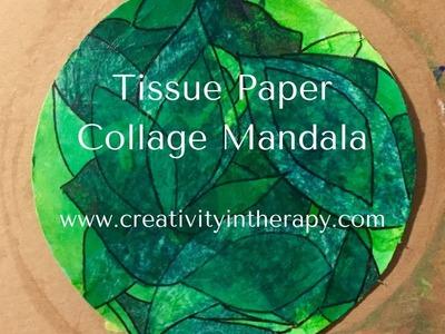 How to Make a Tissue Paper Mandala