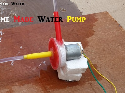 How to make an electric water pump kit - Home Made Product