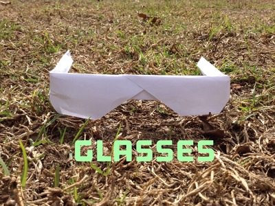 How To Make Cool Paper Glasses