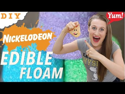 How To Make Edible Floam - Easy 2 Ingredient Recipe!