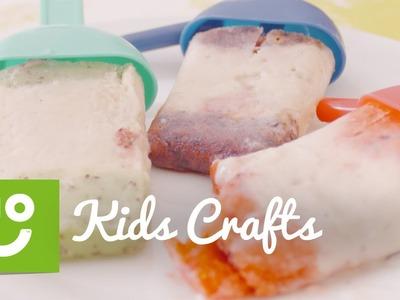 How To Make Fruit and Yogurt Lollies | Kids Crafts | ao.com