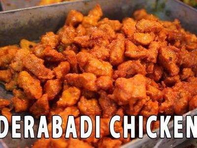 How to make Hyderabadi Chicken 65 - STREET FOOD AROUND