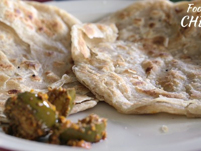 How to make Lachha Paratha with my mum -Food with Chetna