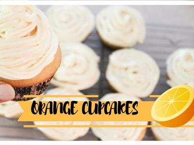 How to make Orange cupcakes