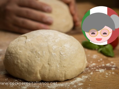 How to make Pizza dough - Homemade italian Pizza crust recipe - The Italian Granny Show