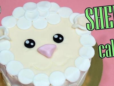 How to make sheep cake