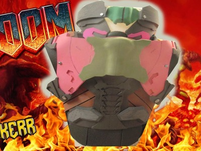 How to make the doom 2016 doomguy praetor suit part 3 the torso part one