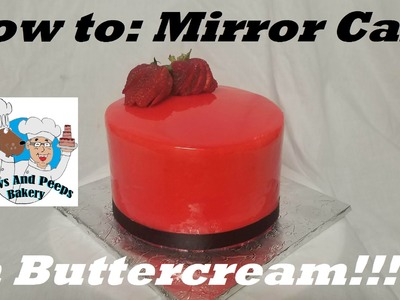 How to: Mirror Cake with Buttercream with Chef Ray Gutierrez
