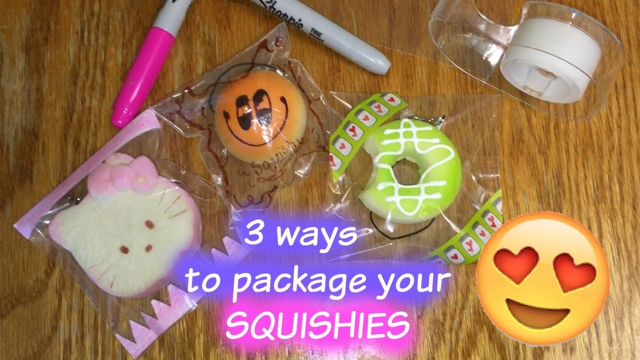 How to package your SQUISHIES