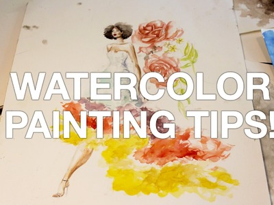 How to Paint With Watercolors! (TuesDIY)