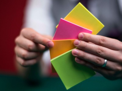 How to perform the paper fix trick | Magic tricks made easy