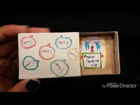 How to Reuse MATCH BOXES ideas - Misbah Qureshi