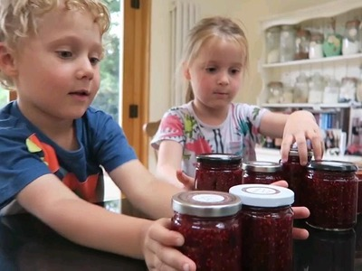 Kids Kitchen: How to make jam with kids