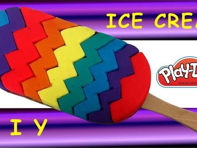 Play Doh How To Make Rainbow Ice Cream DIY Creative
