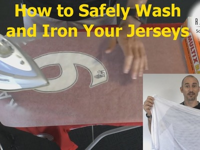 Soccer Football Jersey Care. How to safely wash and Iron your jerseys