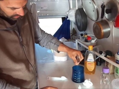 Sprinter Van Living - How to Make Your Own Baby wipes