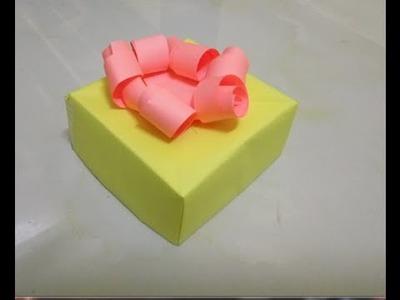 $2 Gift Idea | Surprise Exploding Box |  Vinila DIY