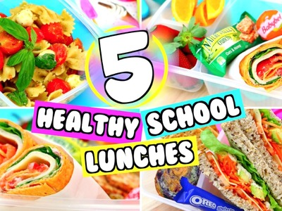 5 DIY EASY SCHOOL LUNCH IDEAS! YUMMY LUNCH IDEAS FOR SCHOOL!